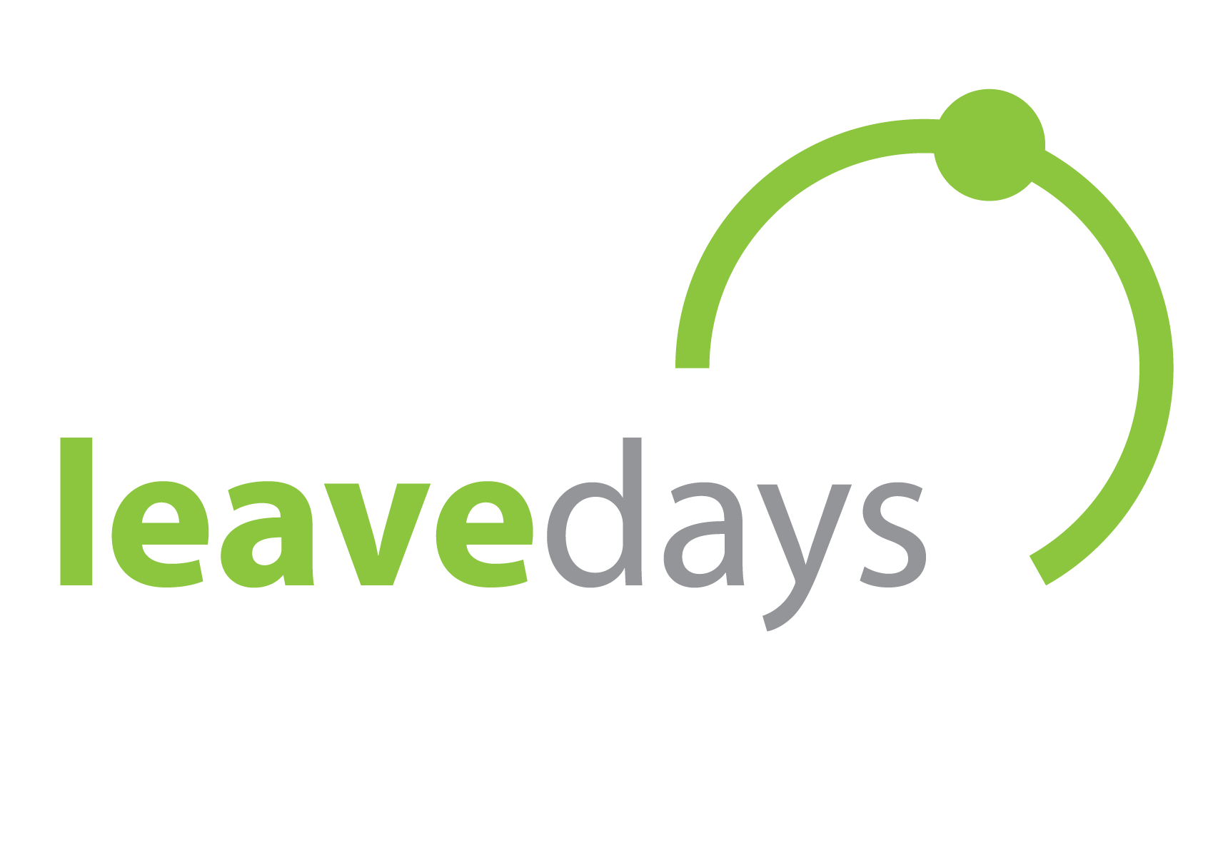 Leavedays leave- and time registration Retina Logo