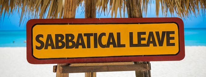 Sabbatical leave: wat doe je ermee?